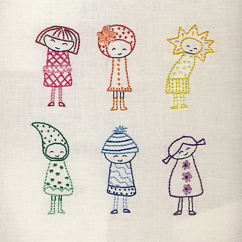 cajunmama:  Finished Rainbow Girls (by Wendi Gratz)