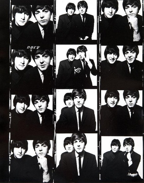 John & Paul (again), David Bailey, 1965