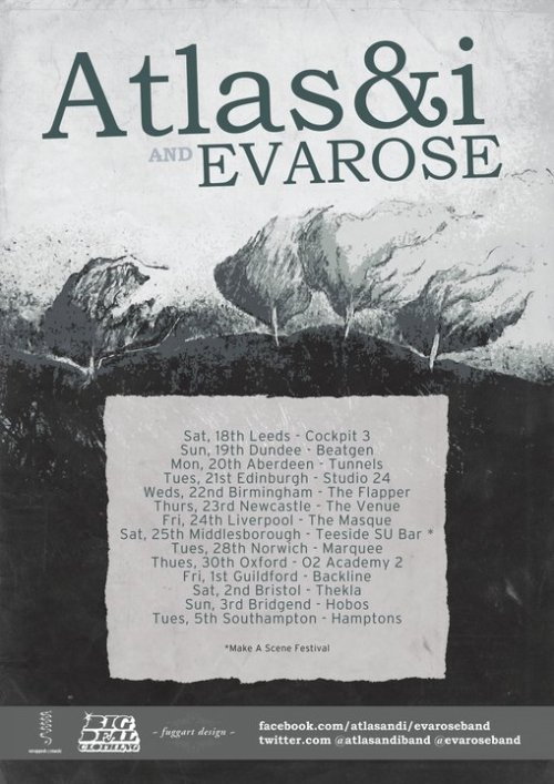 Check out our new June tour dates with Evarose, more dates to be added.