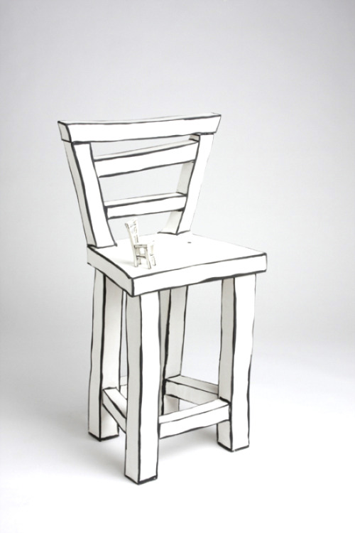 Katharine Morling: Chair on chair
