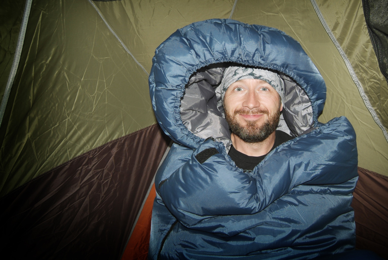 gpoy (6am this morning in my sleeping bag edition) - by the boy