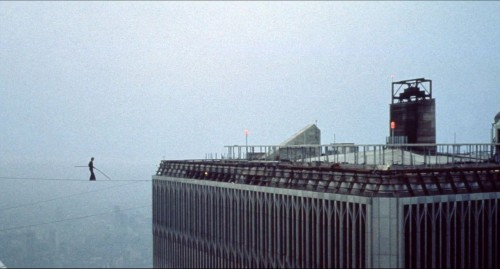 vainaspaver:  Philippe Petit, August 1974, World Trade Center, NY. check out man on wire documentary