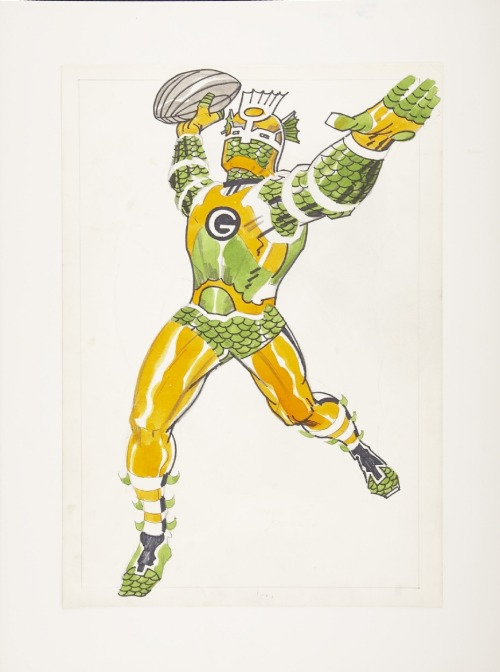 fuckyeahkirby:  The Green Bay Packers  Uh if football looked like this I'd never stop watching it. Kirby Is King.
