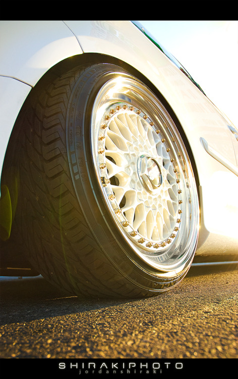 BBS Starring: Volkswagen Golf R32 (by Shirakiphoto)