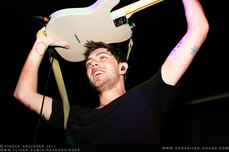 Sam McTrusty, Twin Atlantic. Durham Live Lounge. 21/01/2011. Check out the rest of the photos from this show here.