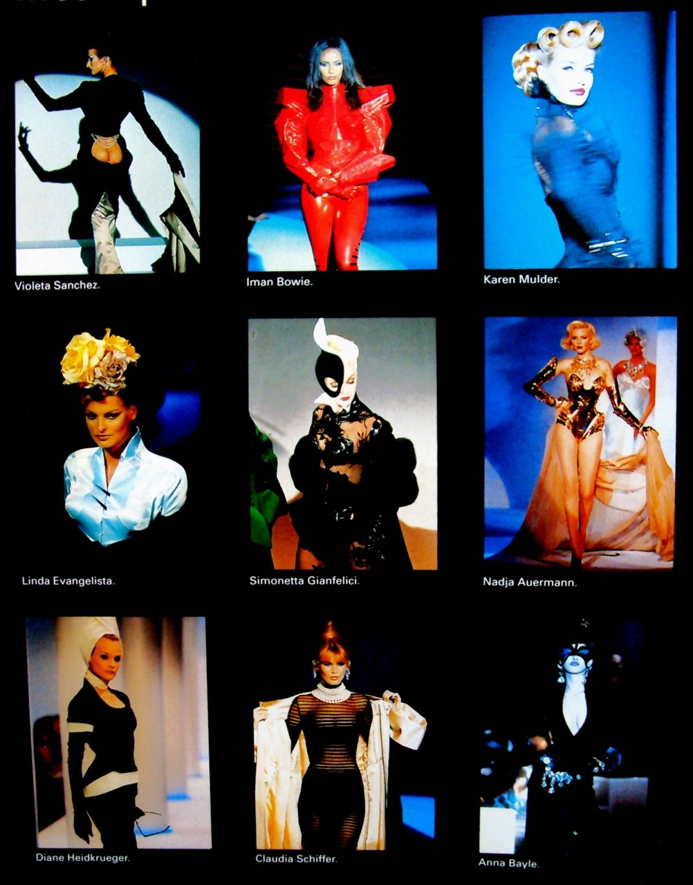 Supermodels for Thierry Mugler