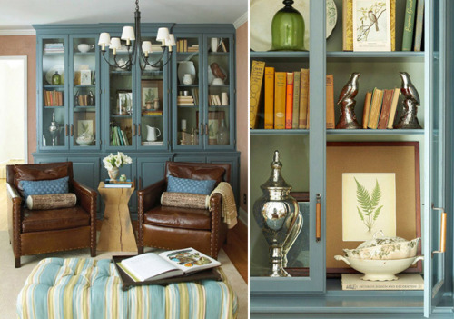 gardenviewcottage:  (via Monday morning inspiration - Holly Mathis Interiors)   Love that ottoman.