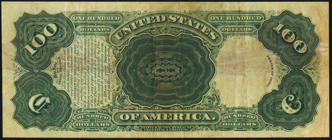 firsttimeuser:  $100 - series of 1880 click for full size