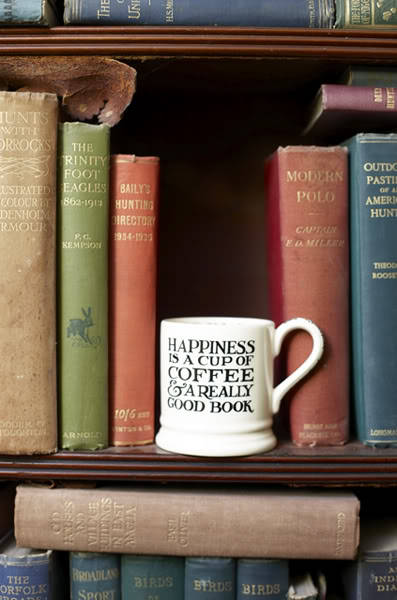 Books are my cup of tea any time of the day.