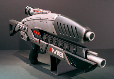 unknownskywalker:  M8 Assault Rifle by Harrison Krix