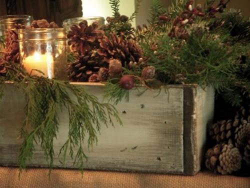 Dawn Mohrmanns Nature Inspired Mantel