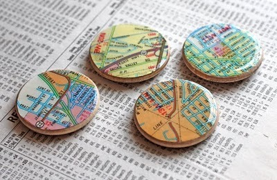 (via Shiny map magnets | How About Orange)