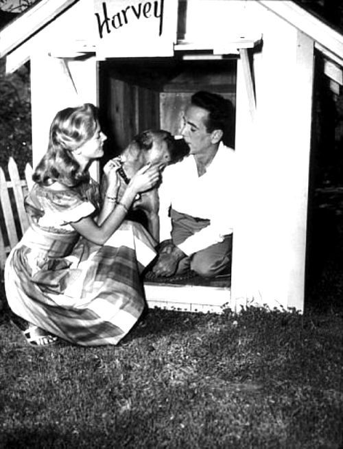 oldfilmsflicker:  Humphrey Bogart and Lauren Bacall