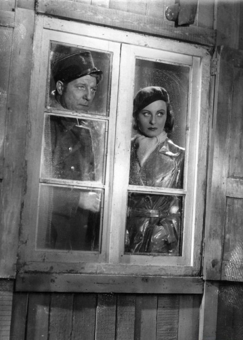 Jean Gabin & Michèle Morgan in Port of Shadows (1938, dir.  Marcel Carné)
