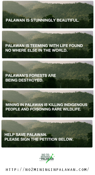 pinoytumblr:  HELP SAVE PALAWAN! Sign the petition.