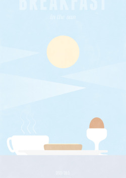 INSPIRATION: Breakfast in the sun!!!  You can buy this print and all others from The All Day Everyday Project right here!