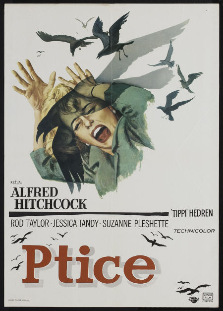 The Birds (1963). Yugoslavian poster.