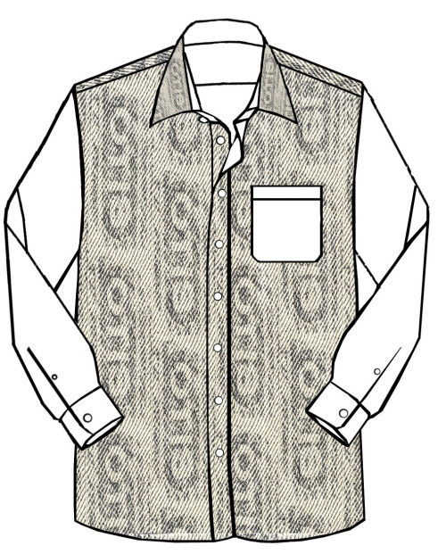 OTIS SHIRT inspired by Escalator trail.©2011
