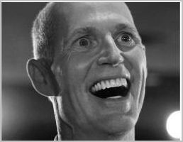 FL Gov. Rick Scott's budget plans: cut corporate taxes, turn the disabled into Soylent Green Because  this is exactly how the Republican-Teaparty operates today: cut taxes  by $2 Billion for your buddies and corporate benefactors, and make the  poor, disabled, and middle-class pay for it. (Emphasis mine below.) Wall Street Journal:  The  2012 spending plan reflects cuts of $4.6 billion over the fiscal  2011  budget, and Mr. Scott outlined more cuts for fiscal 2013. Ahead of   Monday's announcement, the Republican governor discussed  slashing $5  billion from the budget, while cutting property and  corporate income  taxes by about $2 billion.  Orlando Sentinel:  …Scott  ordered deep cuts  Thursday to programs that serve tens of thousands of  residents with Down syndrome, cerebral palsy, autism and other  developmental disabilities. Though  a range of state services face cuts from this year's Legislature,  the  governor invoked his emergency powers to order the state Agency for   Persons with Disabilities to immediately roll back payments to group   homes and social workers by 15 percent — an amount providers say could   put them out of business and threaten their clients' safety. […] But the  governor said the Agency for Persons with Disabilities' ongoing budget  deficit — currently at $170 million — had reached a critical point and  needed to be addressed immediately. The  cuts go into effect Friday and last at least through the fiscal  year,  which ends June 30. Lawmakers are currently debating what will  happen  after that. Providers had not been informed of the cuts.  For Gov. Scott, $170 MILLION is way too much to throw at care for the disabled (they probably didn't even donate to  his campaign). Especially when you're trying to cut property / corporate  taxes by $2 BILLION. Don't you wonder what services wouldn't have to be  slashed if Gov. Scott didn't give the wealthy and corporations $2B in  tax cuts? This is an excellent example of the extremists who call themselves Republicans today.
