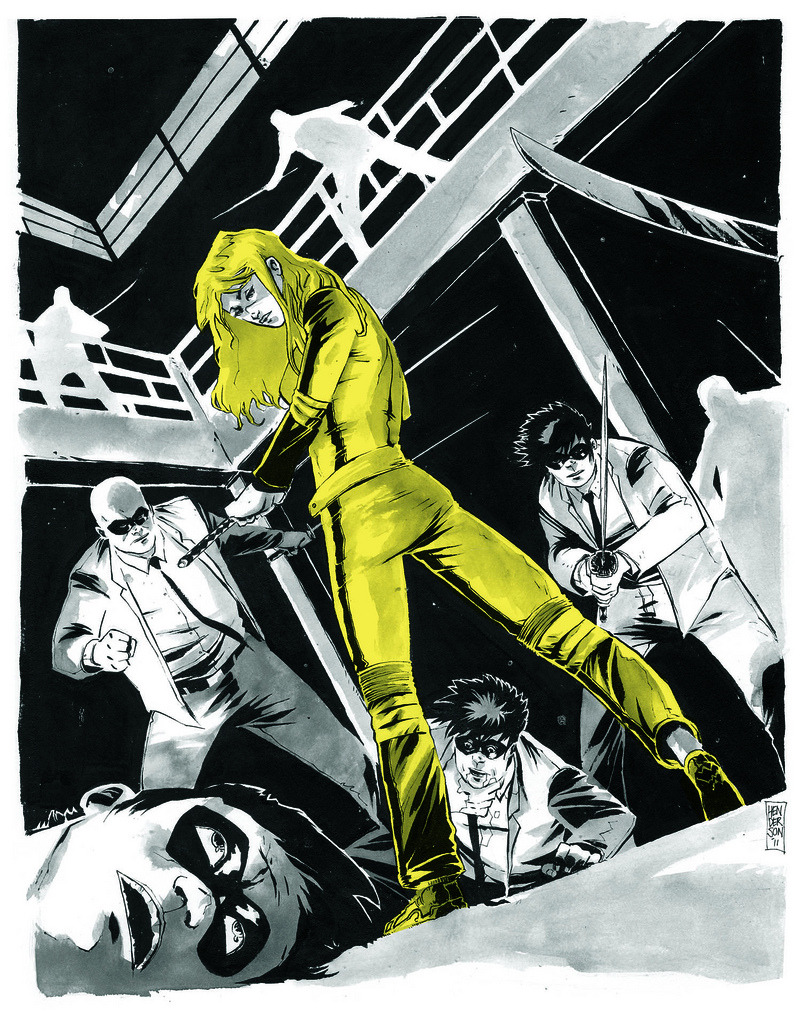 KILL BILL in Marvelous Technicolor by Mike Henderson