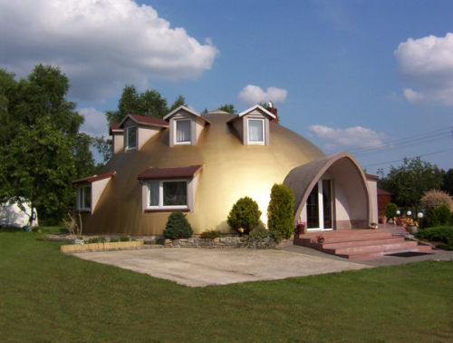 Concrete Dome Homes Images