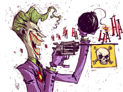 Daily Sketch JOKER by - skottieyoung