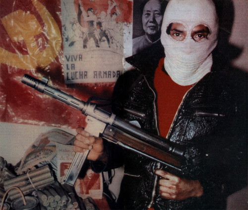 scanzen:  Maoist guerrilla of Sendero Luminoso, c1985, Peru.