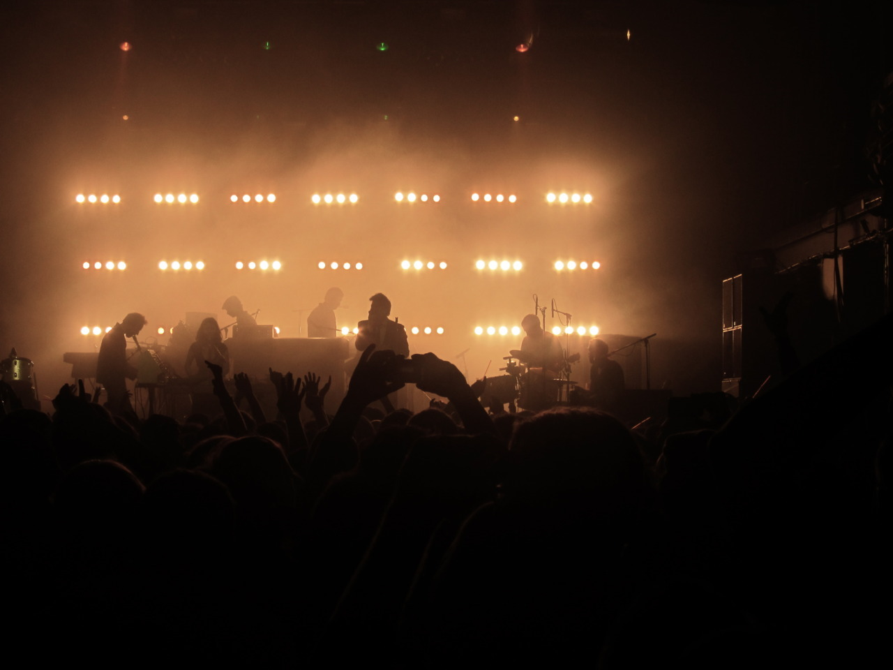 capturescratch:  LCD Soundsystem captured at Terminal 5 NYC 2011