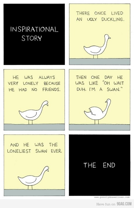 fuck-yeah-tumblrs-best-posts:  9gag: The Epiphany of the Swan Submitted by twiinklex