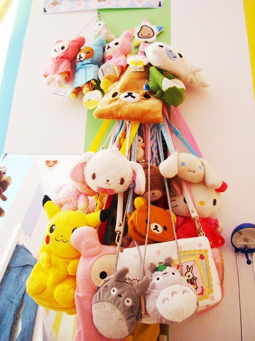 So many sanrio and san-x bags!!!