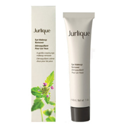 Jurlique Eye Makeup Remover. I've raved about Jurlique's hand cream here before. There was a sale recently on their site, so in addition to stocking up on hand cream, I purchased a bunch of new products to try. This eye makeup remover is my favorite by far. I have a thing about stuff getting into my eyes. If even a little eye makeover remover gets in my eyes, they start to sting. But Jurlique's is so creamy and gentle, it feels like I'm applying soothing lotion to my eyelids. I just put some on a cotton pad and swipe. It also helps get my under-eye concealer off. $25 at Jurlique.