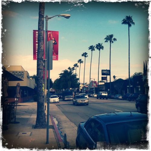 wherewilligo:  Checking out the shops on Ventura Blvd.  All the vampires, walkin' through the valley, move west down Ventura Blvd. And all the bad boys are standing in the shadows; all the good girls are home with broken hearts.