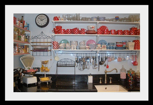 My Kitchen (by The Vintage Kitten) I don't think there is a thing I dislike in this Kitchen
