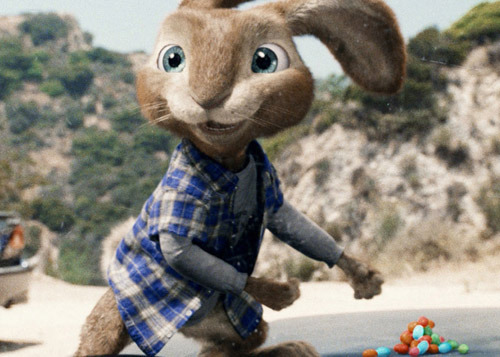 Hop bounces its way to big box office win Russell Brand's Easter-themed movie takeover proved more successful than any of us imagined it would be, as Hop this weekend became the year's biggest opening movie.Debuting with a record-setting $38m, the fluffy family comedy beat this year's previous big earner Rango by just under $1m.On the opposite end of the audience spectrum – i.e. those older than five – Duncan Jones' sophomore sci-fi Source Code also came out trumps, opening in second place with $15m.