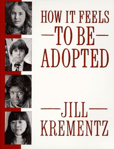 How it Feels to be Adopted (1988) by Jill Krementz.  There are too many stories about adopted kids that play on old cliches. There's Harry Potter, Despicable Me, Annie, Stuart Little, Hotel for Dogs, even Tarzan.  Thankfully there's an antidote to all that, How it Feels to be Adopted by Jill Krementz. This is a book of oral histories of kids who are adopted, how they experience adoption and most importantly how they feel about it. 19 boys and girls from age 8 to 16 share their truths and there is no one cookie cutter approach to what adoption means in each child's life. This book is required reading if your life is touched by adoption and important for the rest of us to get beyond the reoccurring cliches to the deeper truth.