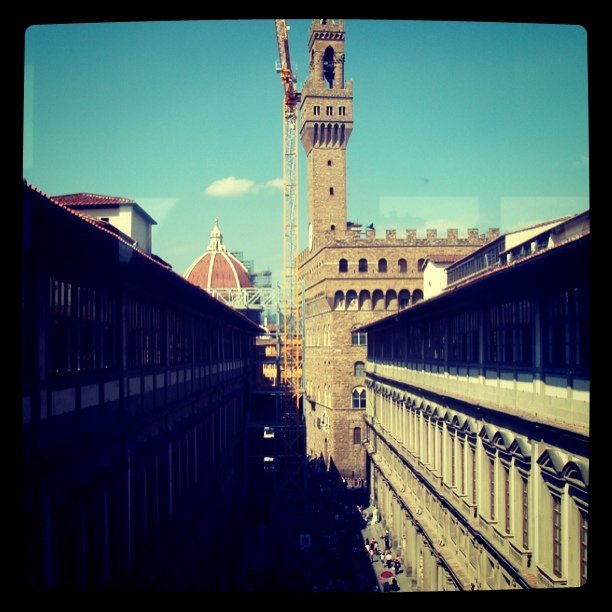 #uffizi #duomo #palazzovecchio #Florence #Italy April 2007. #Tuscany #Europe  (Taken with instagram)
