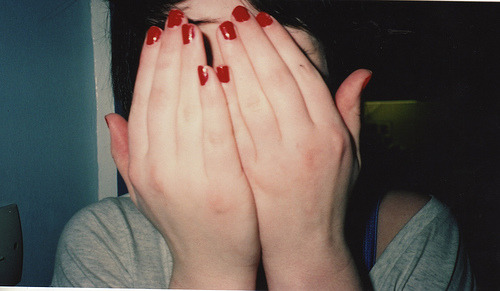 Me: Red nails soooo classic.