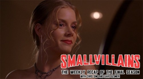 "Smallvillains Episode 1.7:  Craving: Chris: Our original plan for this week was to take on Jeph Loeb's Red Kryptoniote episode from Season 2, but with the announcement that three-time Academy Award nominee Amy Adams had been cast as Lois Lane in Zack Snyder's upcoming Superman film, we  realized we had no choice but to go with a different selection: Season 1's ""Craving,"" in which Amy Adams stars as a Smallville High student with a Kryptonite enhanced eating disorder. David: I really wish we'd watched the Loeb joint. I hate everyone who recommended this with a fury equivalent to a thousand suns. Chris: Yeah, it was… well, it was not very good, but to be fair, it was exactly the level of quality you had to expect from a Season 1 episode of Smallville about space meteor bulimia. David: No, I think it might have been worse."