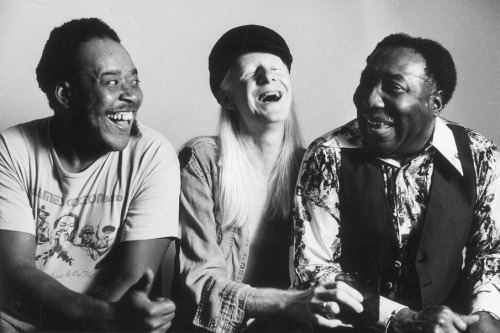 James Cotton, Johnny Winter and Muddy Waters