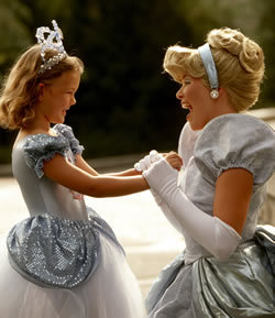 pinkdisneyprincess:  I just realized….I HAVE THAT EXACT SAME CINDERELLA DRESS!! It's in my closet at home! loll