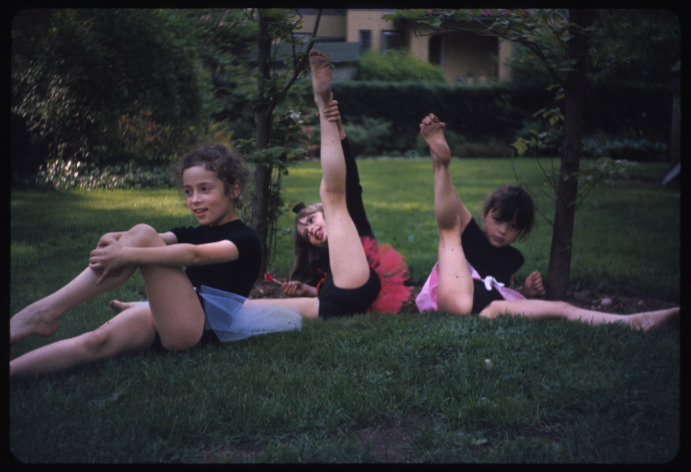 L-R: Jessica, Christina, and Marisa Indri, October 1968.