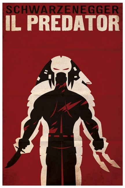 Predator Italian Posters by Travis Pitts Available from imagekind