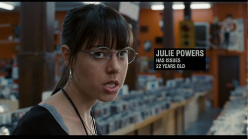 I guess everybody has obnoxious female friends. Just like Julie Powers. They have issues, and while you should still be nice to them it's kind of your duty to tell them every now and then.