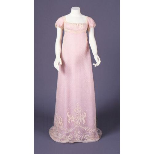 Dress, 1805-10, Connecticut Historical Society
