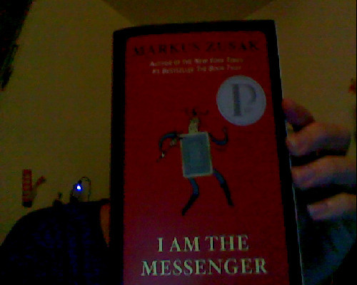 sloarcdezmen:  Book Review I Am The Messenger (A.K.A. The Messenger) by Markus Zusak  The book is about Ed Kennedy, an ordinary man who wasn't living his life until a series of cards gave him meaning. Forced to follow the Aces into people's lives, each visit he makes creates a change in the life of people and (in the end) himself.  The book is very Charlie-esque in a way, so nothing like Perks Of Being a Wallflower. This is really a great book. I chose it because I had previously read The Book Thief by the same author and loved it. The story moved me and made me feel tingly inside and made me forget my pessimistic life and remember how one Act of Random Kindness can make all the difference. I hated Audrey though. He should have kept Sophie or something.