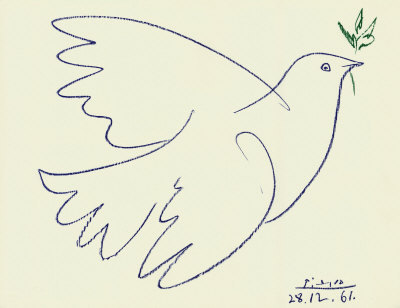 tmazz:  Picasso Blue Dove