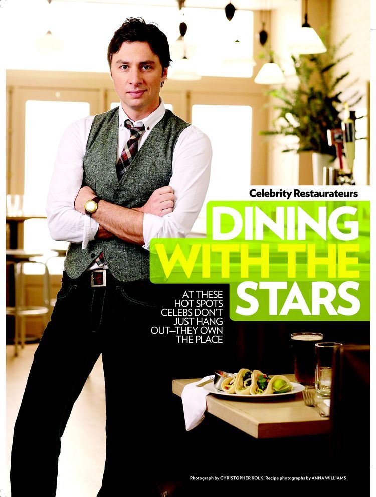 Zach Braff for People Magazine Asst. Stylist to Mark Holmes