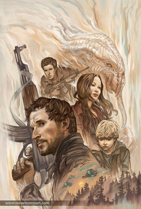 My cover for the Falling Skies TPB from Dark Horse.