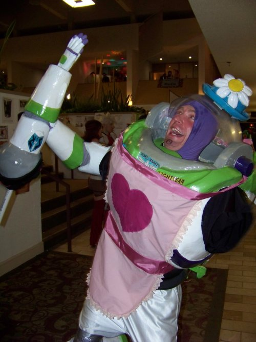 I AM MRS. NESBITT. This is such an amazing costume. …and if you're not a human and have never seen Toy Story, here's the reference: