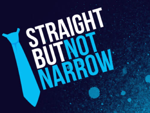 Be Straight But Not Narrow